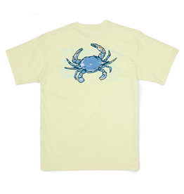 Properly Tied Crab Tee, Yellow