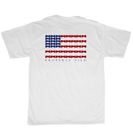 Properly Tied Bow Tie Flag Tee
