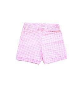 Be Girl Cartwheel Shorties - Pink Gingham