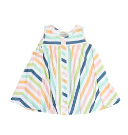 Be Girl Trapeze Tunic - Whimsy Stripes