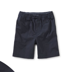 Tea Ripstop Shorts, Indigo