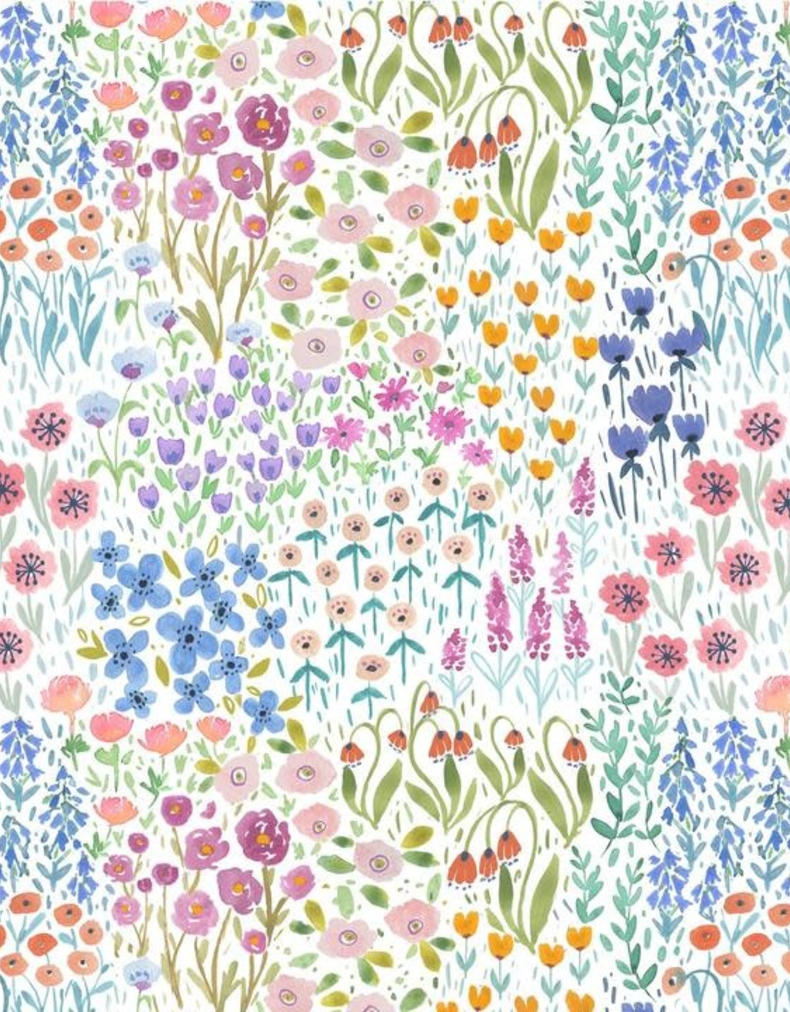 Little Sleepies Flower Fields Convertible Romper/Sleeper
