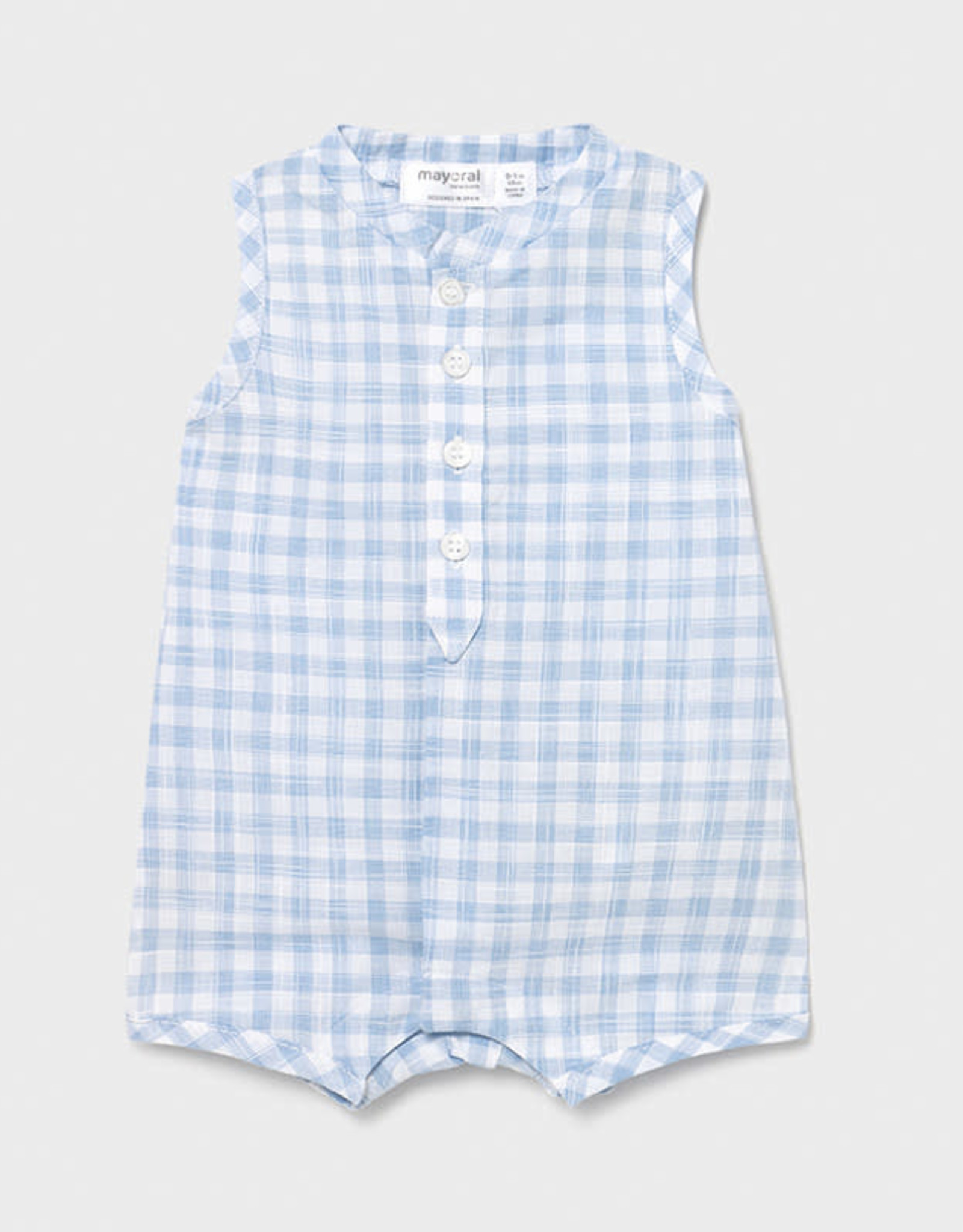 Mayoral Romper Checked