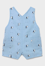 Mayoral Overalls, Blue with Dogs