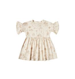 Rylee + Cru Jersey Babydoll Dress, Natural
