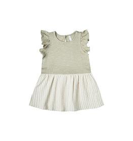 Rylee + Cru Striped Coury Dress, Sage