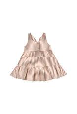 Rylee + Cru Ruby Swing Dress, Amber-Ivory