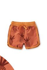 Tea Baby Sport Shorts, Pineapples