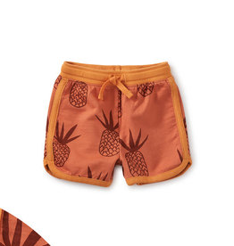 Tea Baby Sport Shorts, Pineapples