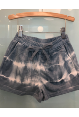 Hayden Girls Shorts, Tie Dye Blue/ White