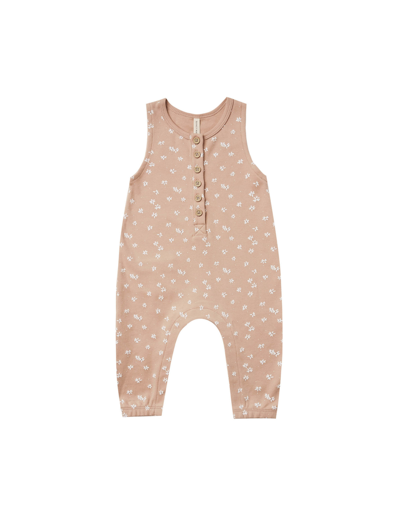 Quincy Mae Quincy Mae Sleeveless Jumpsuit, Blossom