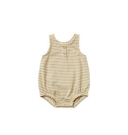 Quincy Mae Quincy Mae Sleeveless Bubble, Gold Stripe