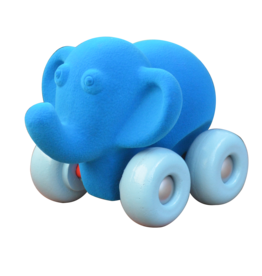 """Rubbabu Aniwheel Elephant, 7"""""""
