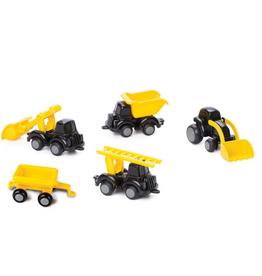 Viking Toys Mini Chubbies Construction Vehicles, Set of 5