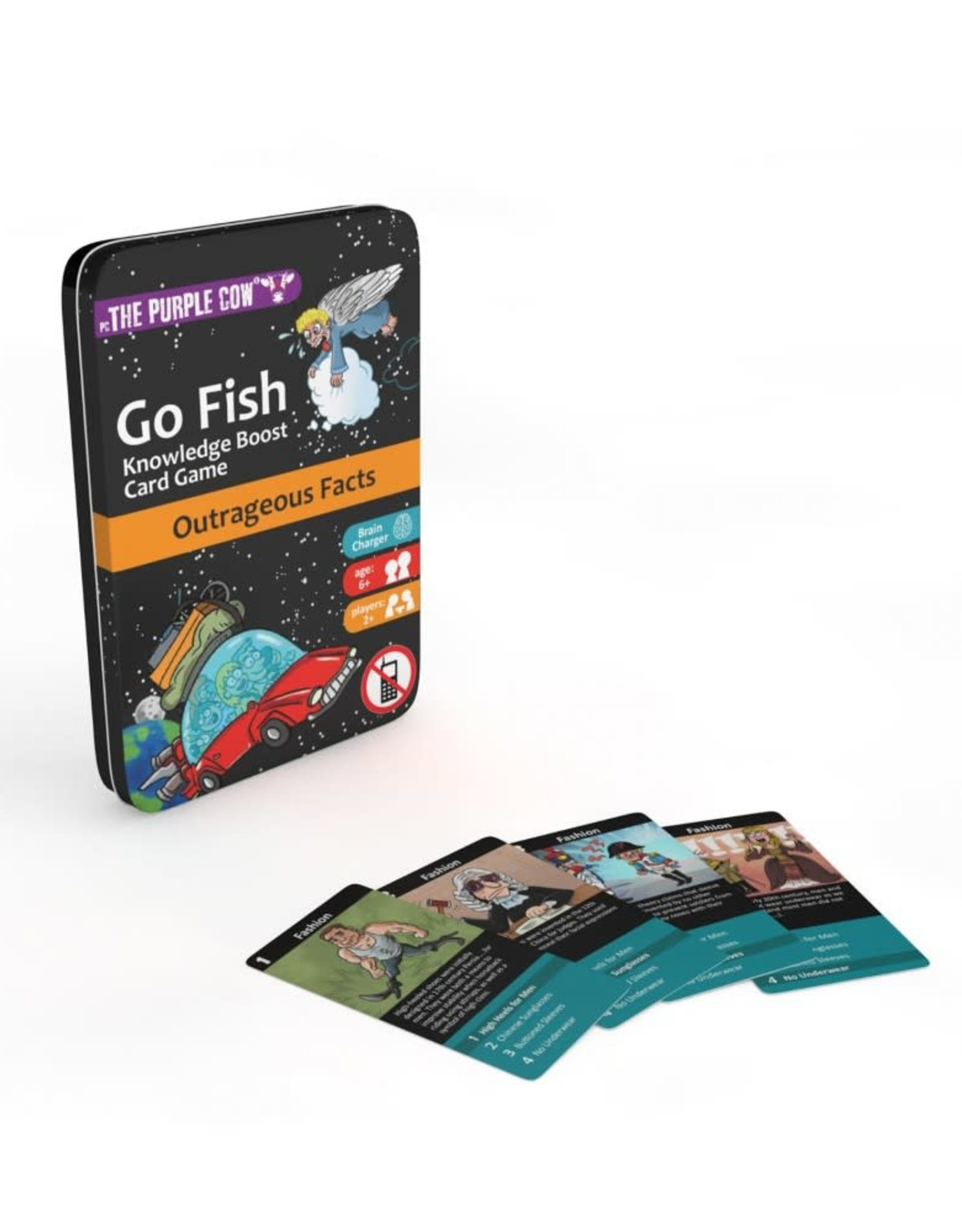 The Purple Cow Go Fish Outrageous Facts