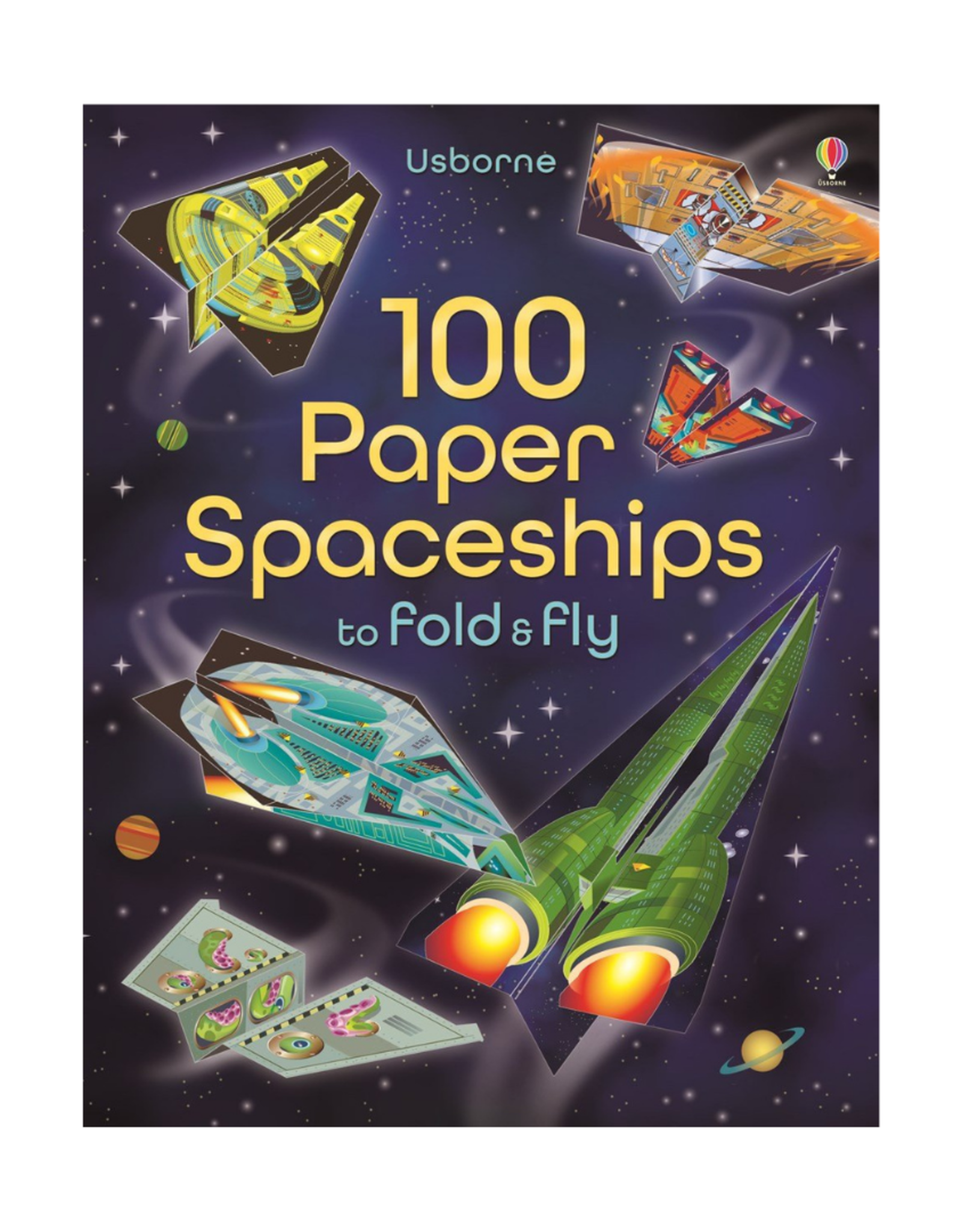 100 Paper Spaceships to fold and fly