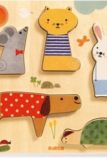 Djeco Wooden Puzzle Woodypets