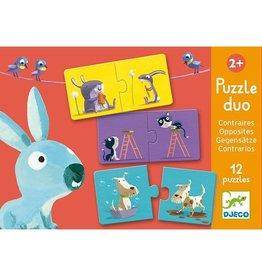 Djeco Djeco Duo Puzzle Opposites