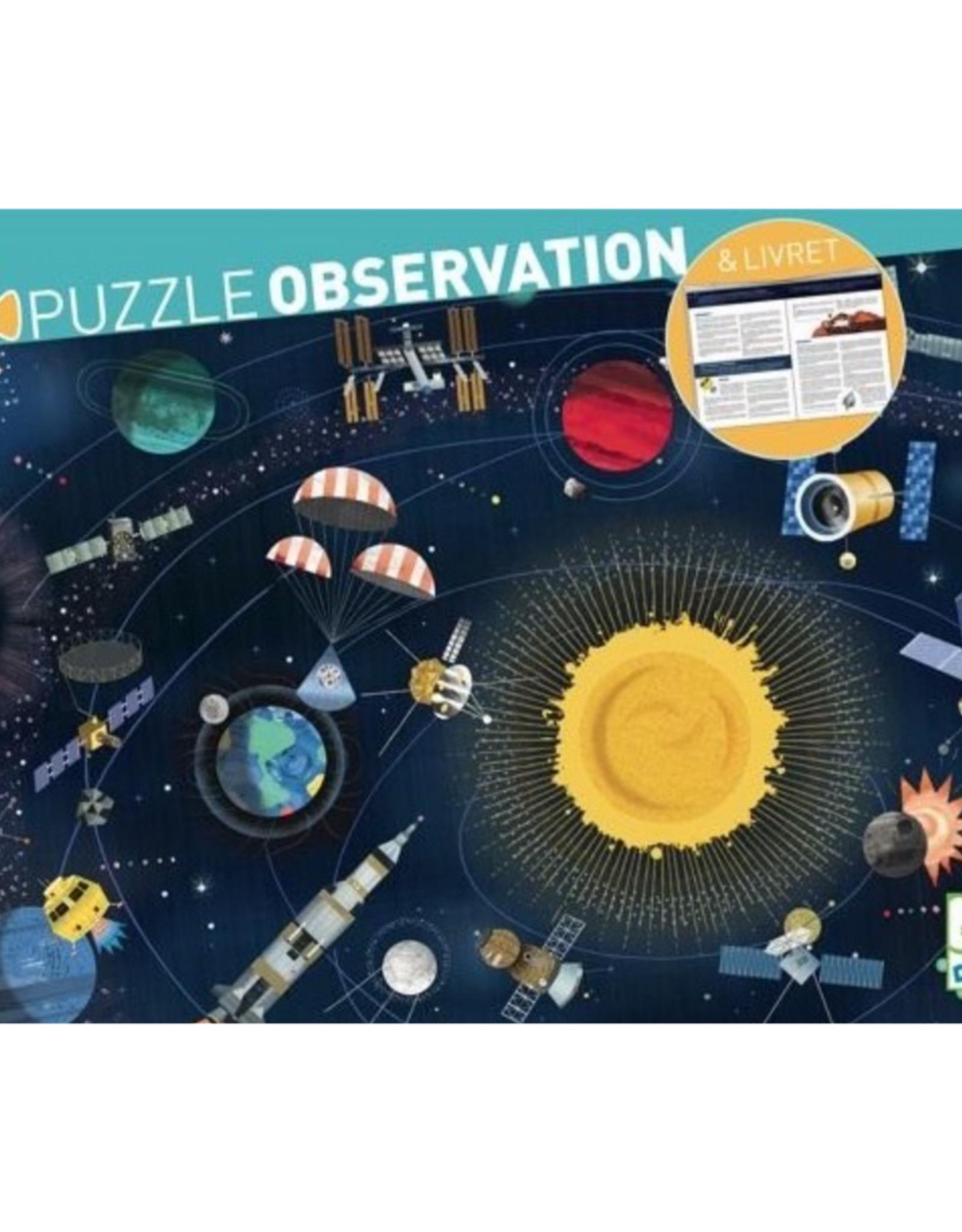 Djeco Space Observation Puzzle, 200 pcs