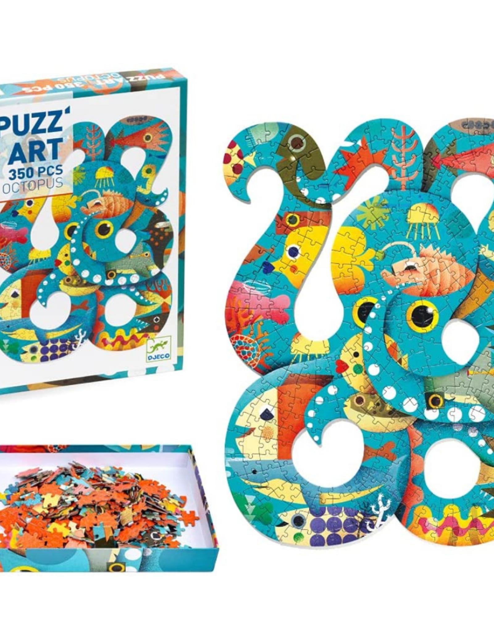 Djeco Puzz'Art Octopus, 350 pcs