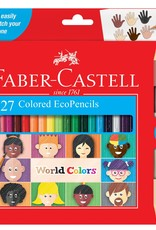 Faber Castell 27 ct World Colors Eco Pencils