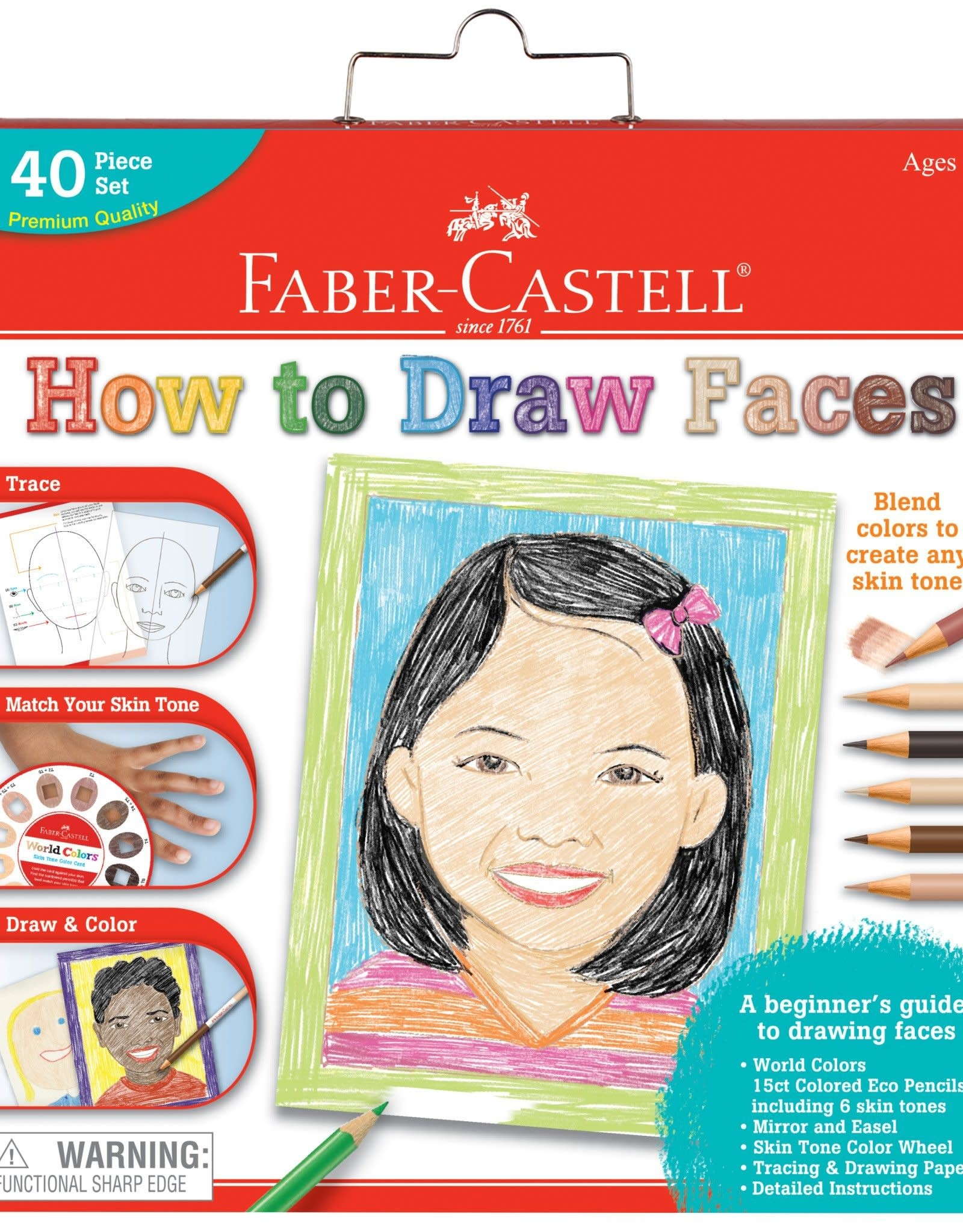 Faber Castell World Colors How to Draw Faces