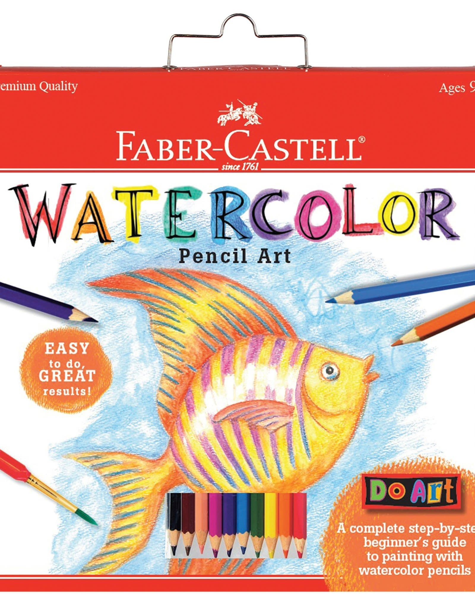 Faber Castell Do Art Watercolor Pencil Art