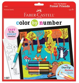 Faber Castell Color by Number Forest Friends