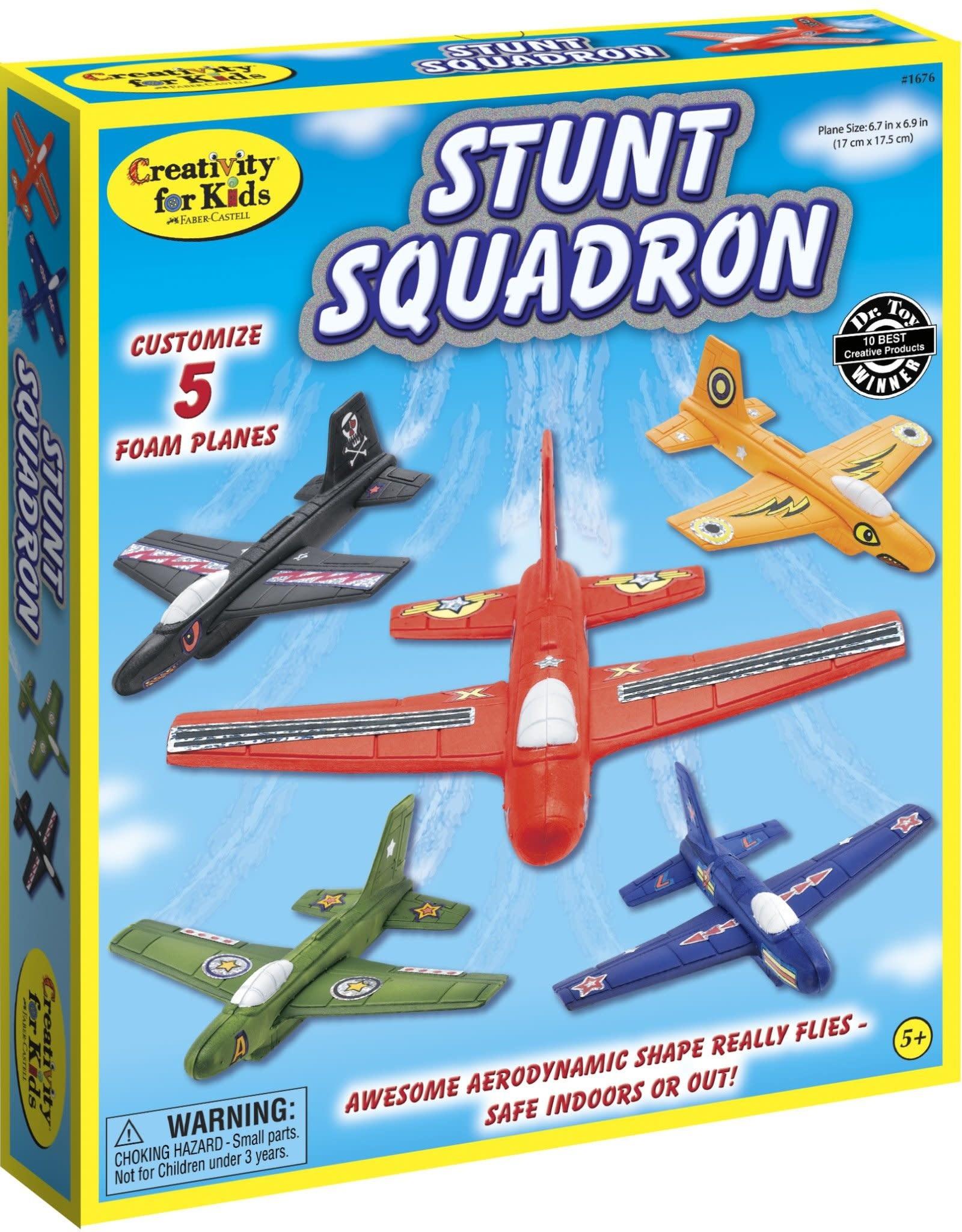 Creativity for Kids Stunt Squadron