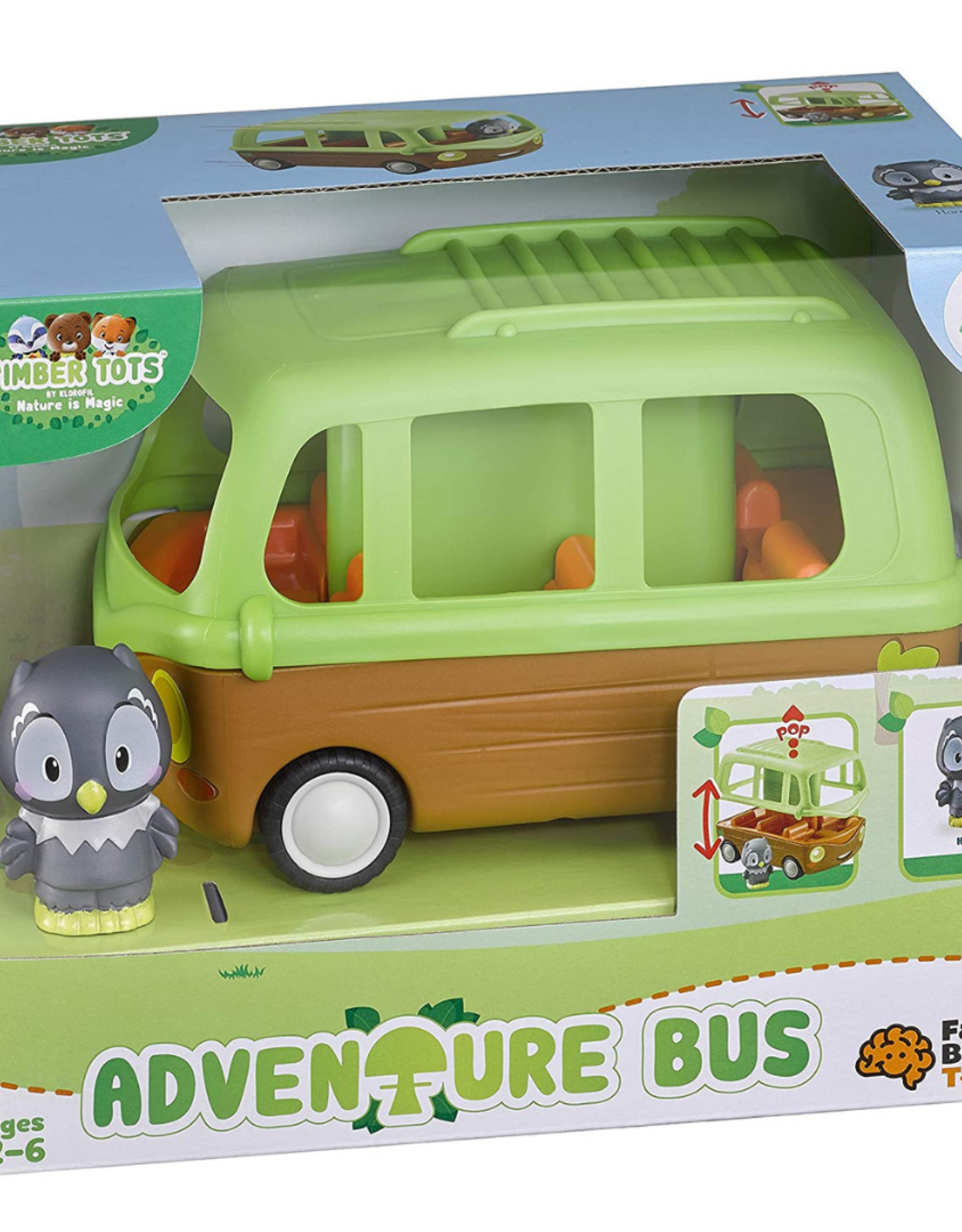 Fat Brain Toy Timber Tots Adventure Bus