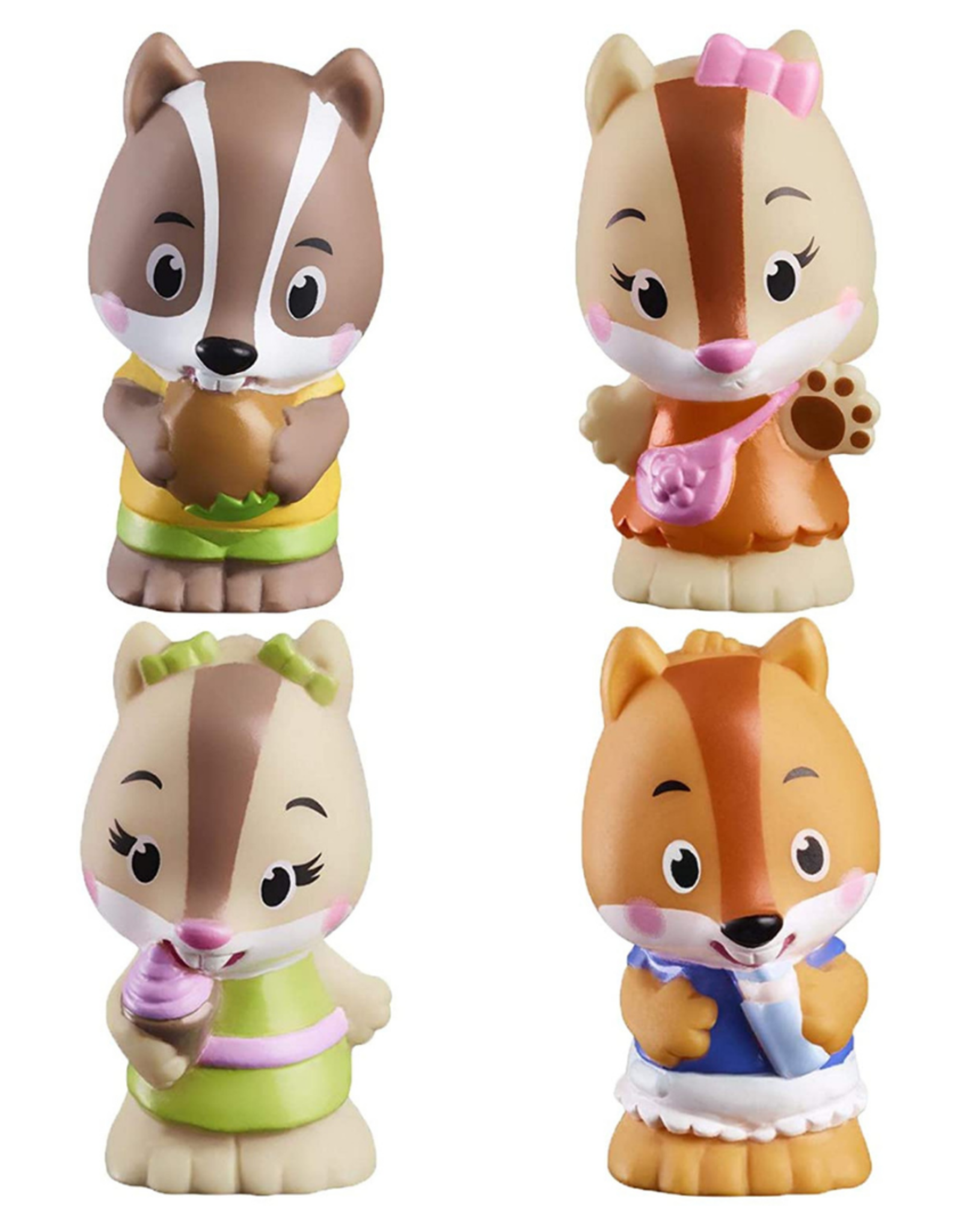 Fat Brain Toy Timber Tots Nutnut Family Set of 4