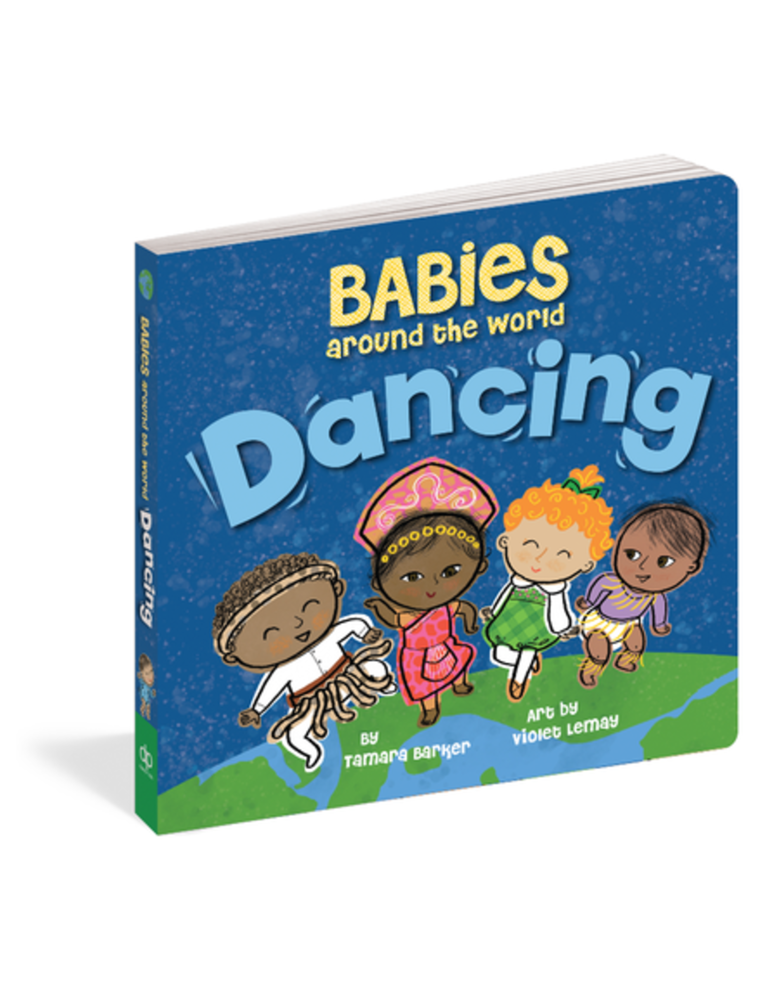 Babies Around the World Dancing by Tamara Barker