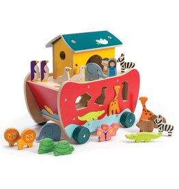 Tender Leaf Tender Leaf Toys Noah's Shape Sorter Ark