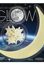 4M Glow-In-The-Dark  Moon & Stars