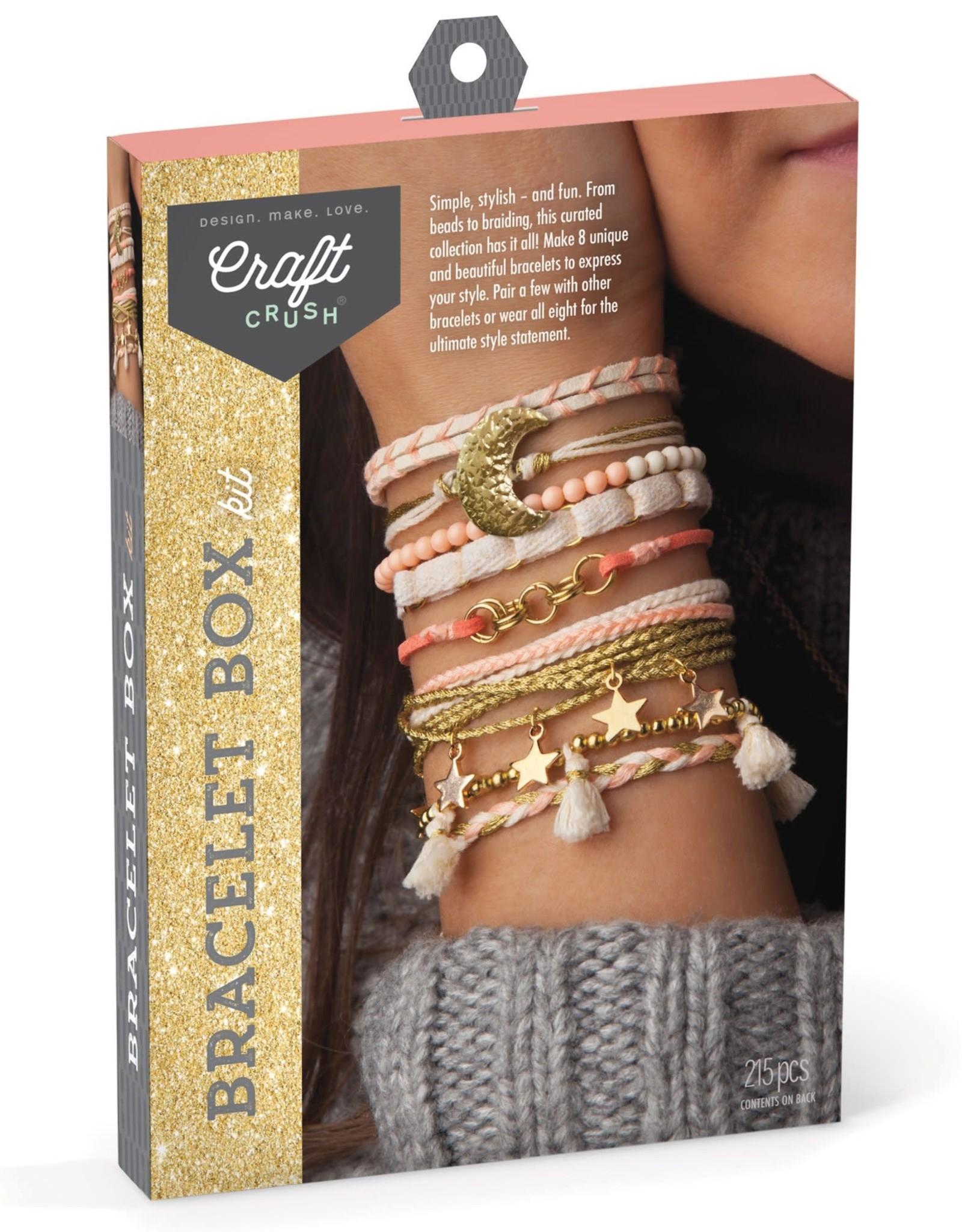 Ann Williams Craft Crush Bracelet Box, Gold