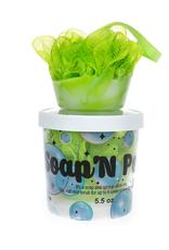 Garb2ART Garb2ART Cosmetics Soap 'N Pouf - Key Lime