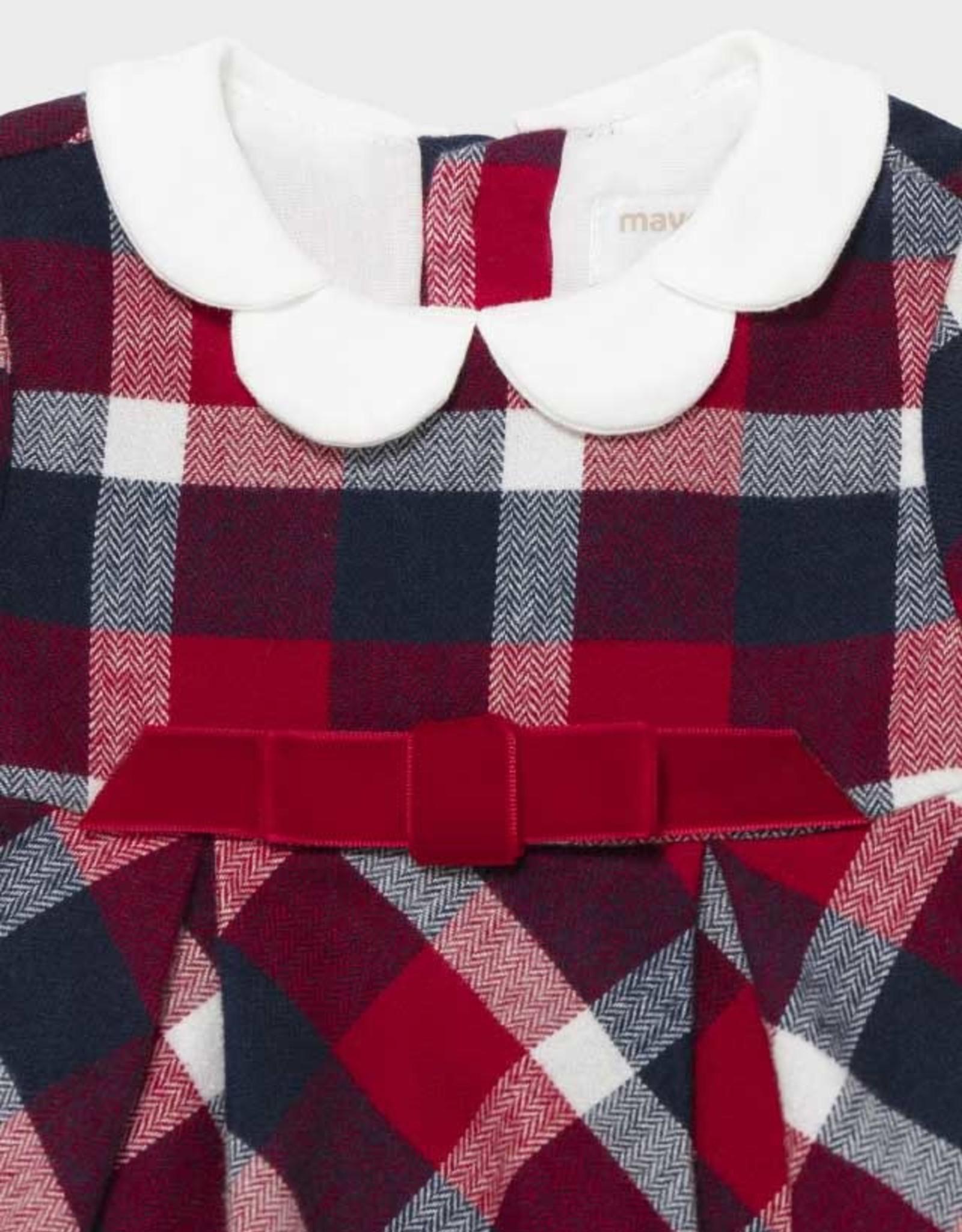 Mayoral Plaid Flannel Dress