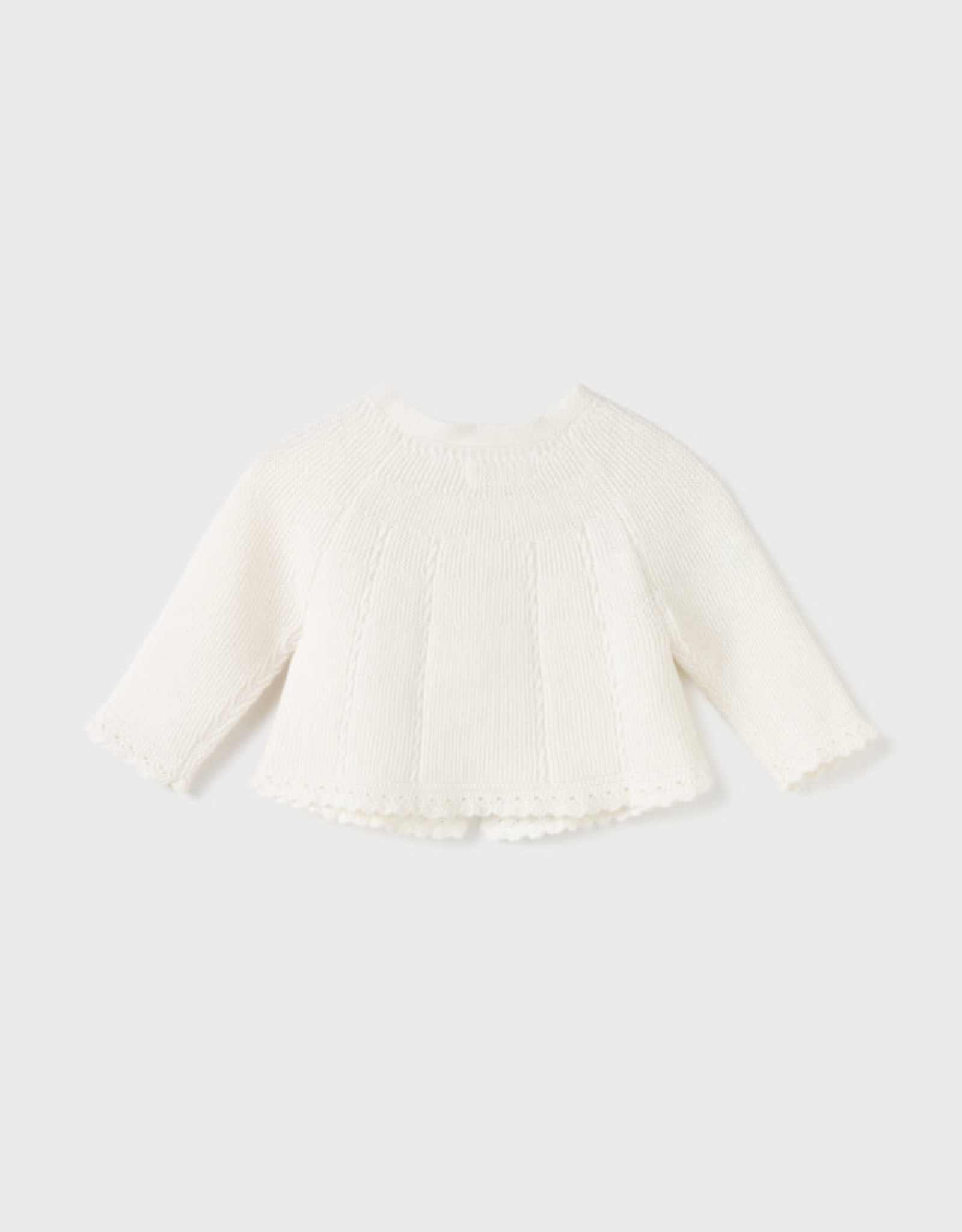 Mayoral Knit Cardigan - Chickpea