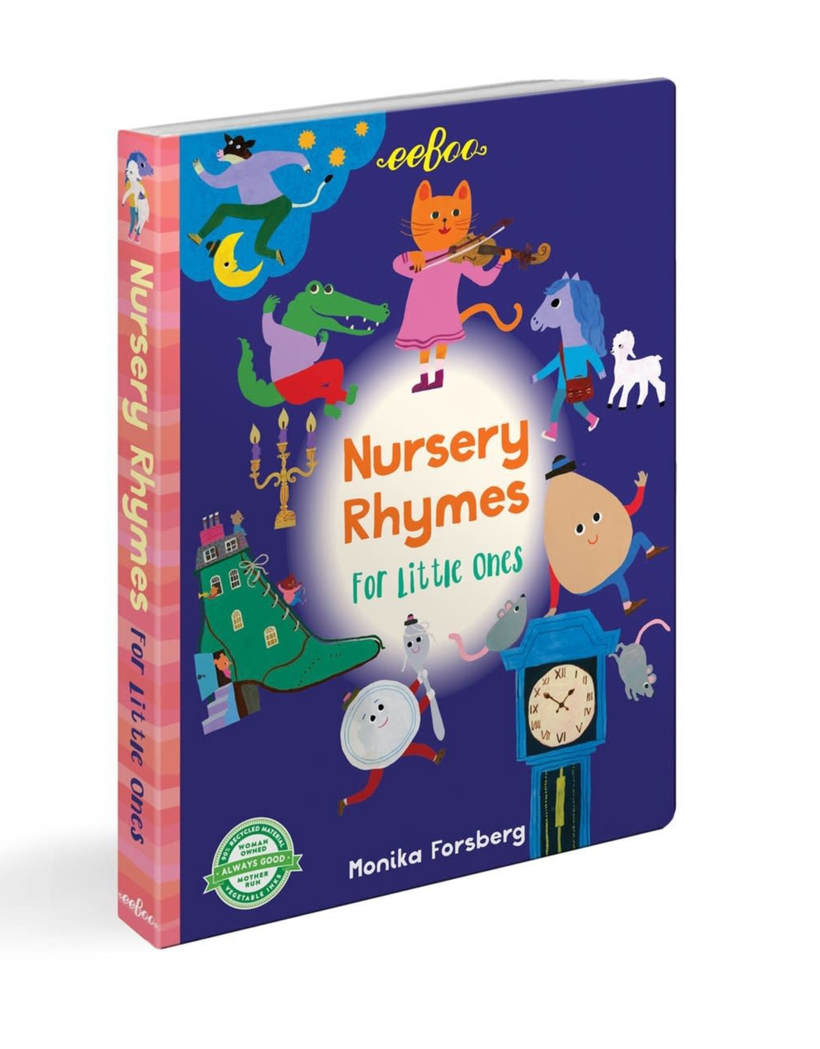 Nursery Rhymes for Little Ones, Illustrated by Monika Forsberg