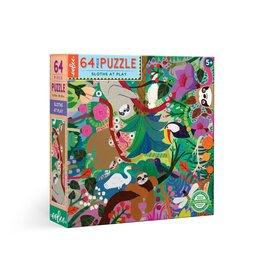 eeboo Sloths at Play 64pc Puzzle
