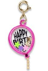 Charm It!  Gold Birthday Balloon Shaker
