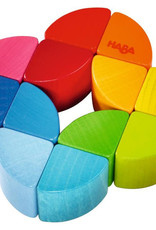 Haba Clutching Toy/Rattle rainbow ring