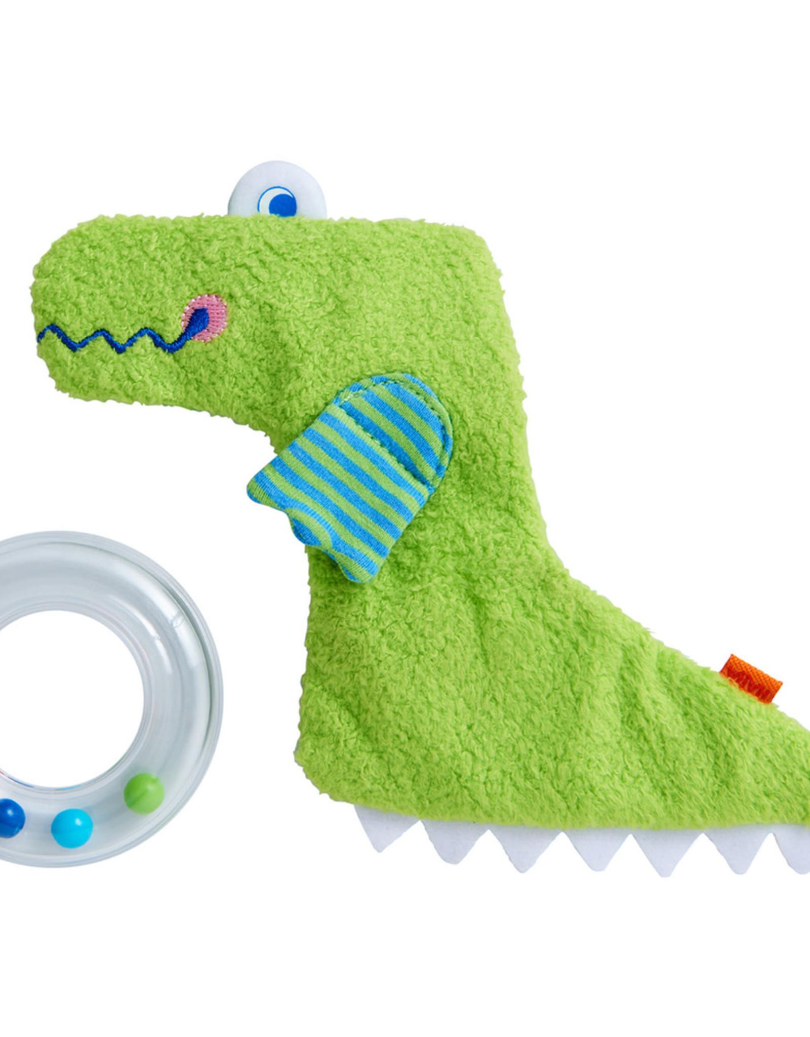 Haba Clutching Toy Crocodile w/ Ring