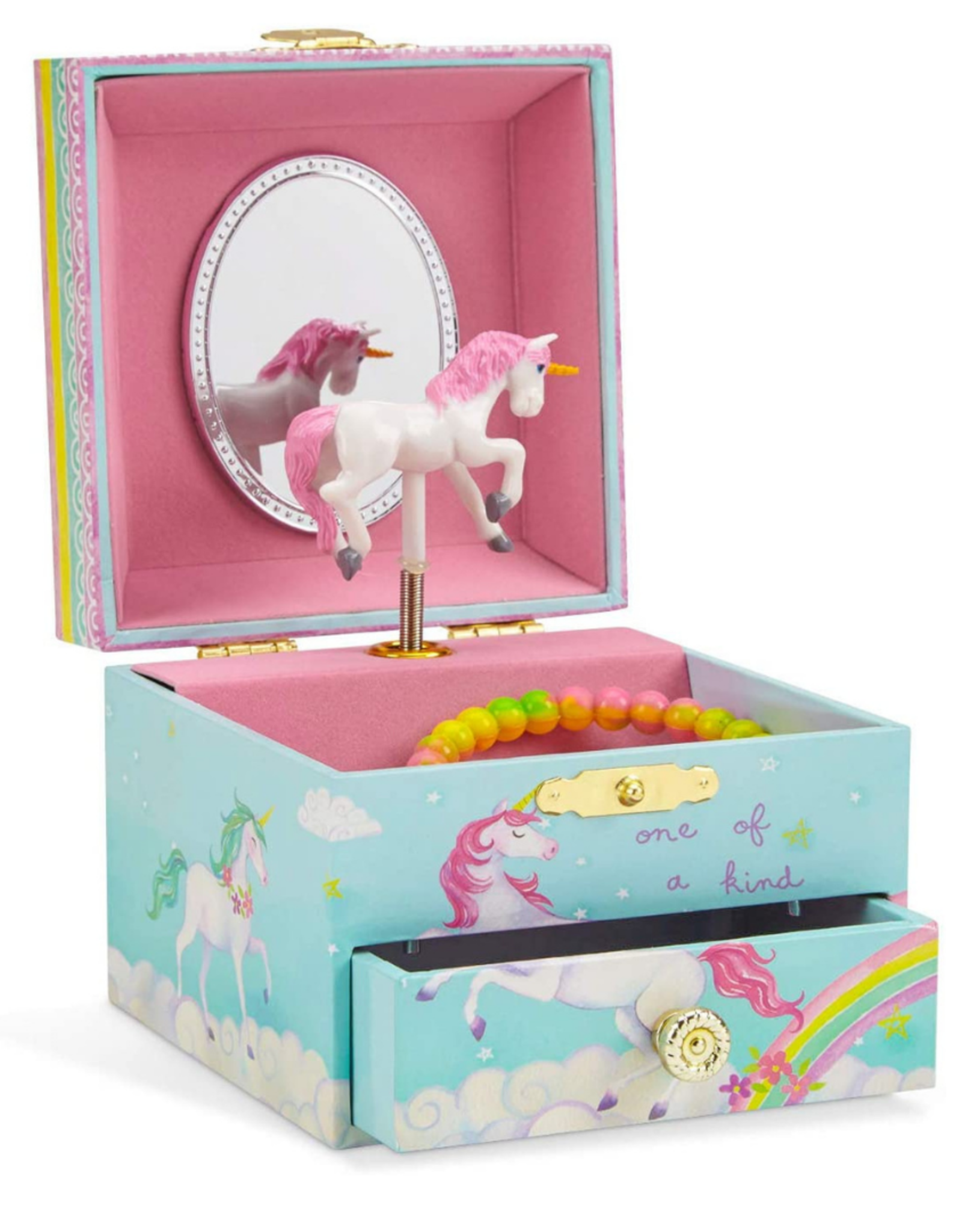 Jewelkeeper Musical Jewelry Box Unicorn