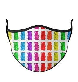 Top Trenz Fashion Face Mask, Large, Gummy Bear