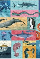 Crocodile Creek 500pc Puzzle, Giants of the Sea