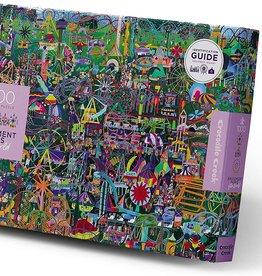 Crocodile Creek 1000pc Puzzle, Amusement Parks  of the World