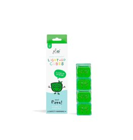 Glo Light Up Cubes green/Pippa (4 pack)