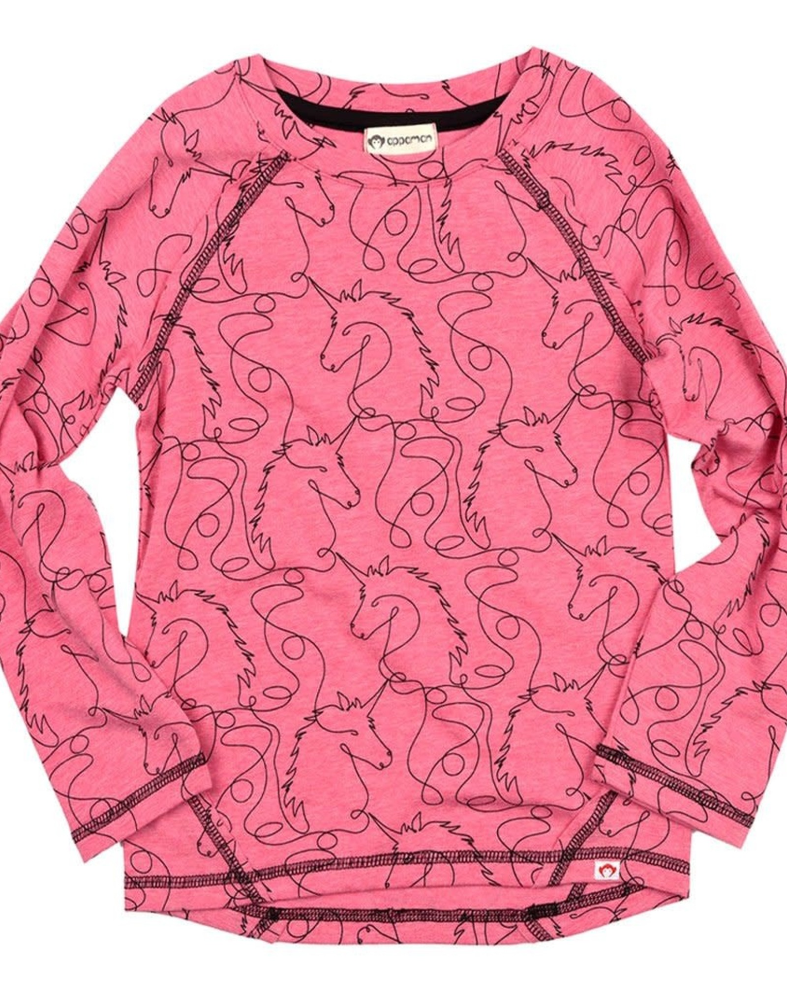 Appaman Adler Tee - Hot Pink Unicorns
