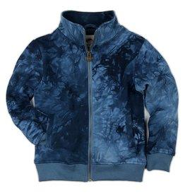 Appaman Paulie Track Jacket - Navy Tie Dye